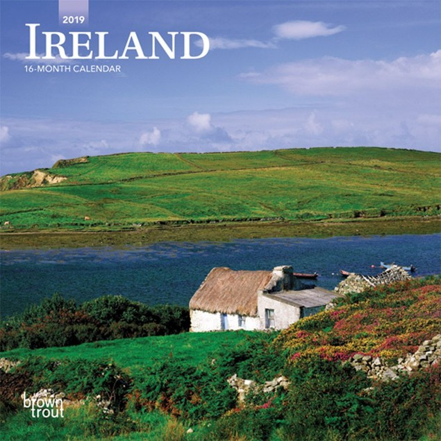Ireland Mini Wall Calendar, Ireland by Calendars
