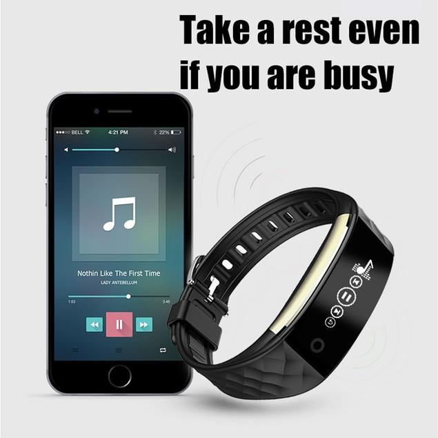 Bluetooth 4.0 LED Waterproof Smart Wrist Watch Bracelet Sport Watches