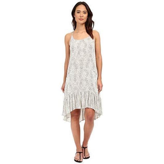 Brigitte Bailey Women's Alena Printed Tank Dress, Olive/Off-White, MD