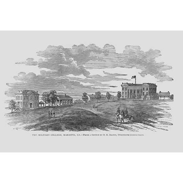 Military College, Marietta, Georgia Poster