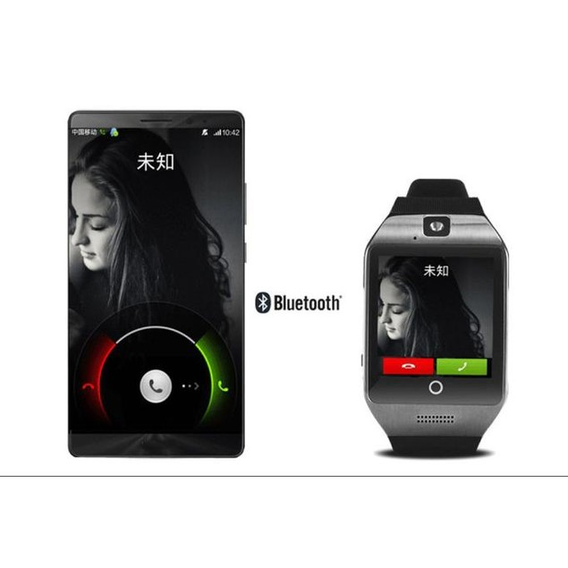 Smart Bluetooth Watch GSM Camera TF Card Wristwatch for Samsung