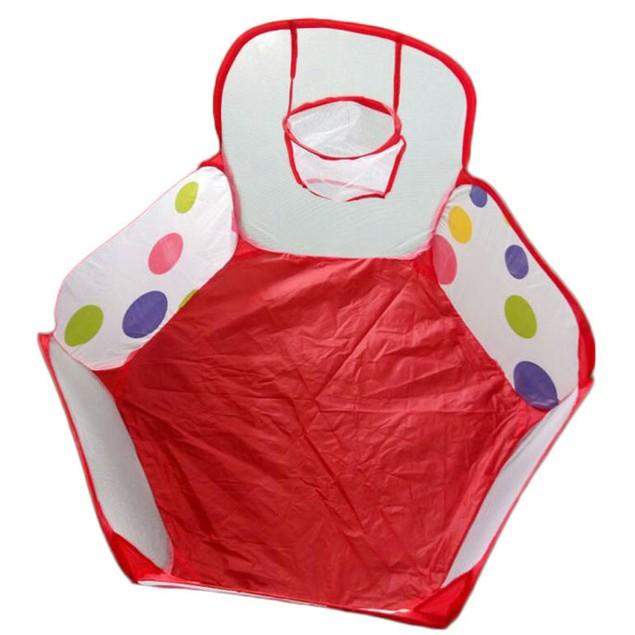 Pop-Up Polka Dot Ball Pit for Kids