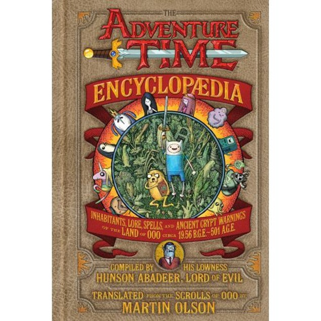The Adventure Time Encyclopedia Book, Adventure Time by Abrams