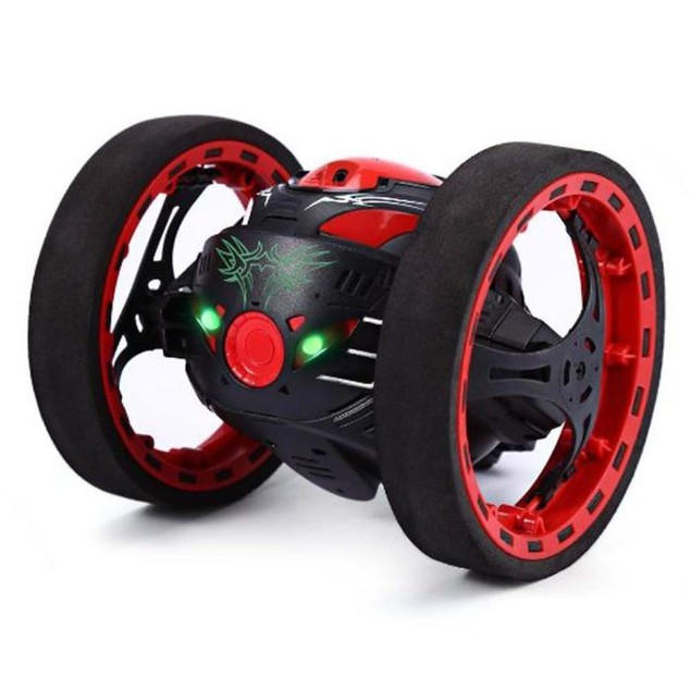 Wireless Remote Control Jumping RC Toy Bounce Cars Robot Toys