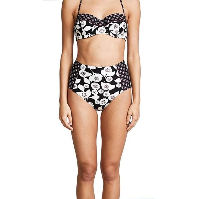 Jantzen Women's Solid Shoulder One Piece Swimsuit