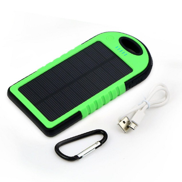 Solar Charger with Clip