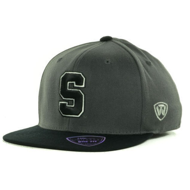 "Stanford Cardinal NCAA TOW ""Slam"" Flat Bill Stretch Fitted Hat"