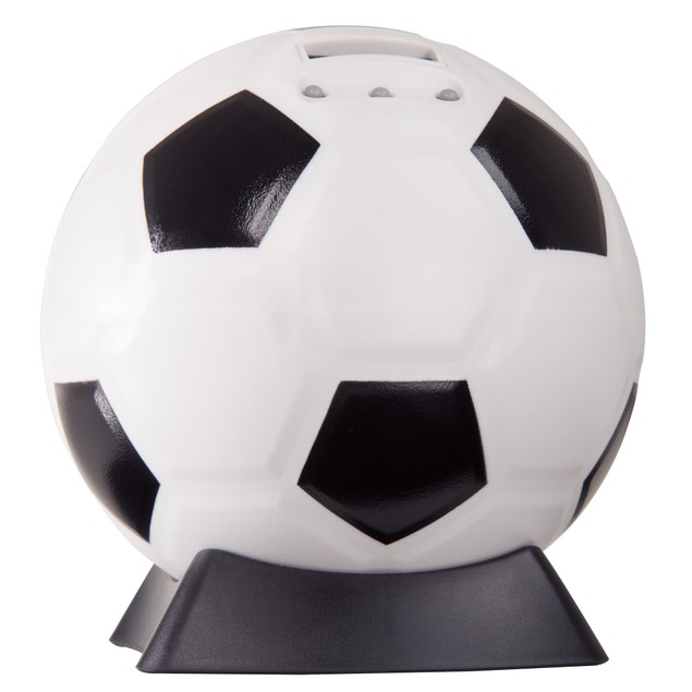 Hey! Play! Soccer Ball Digital Coin Counting Bank