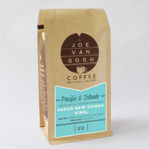 Joe Van Gogh Coffee Papua New Guinea Kimel