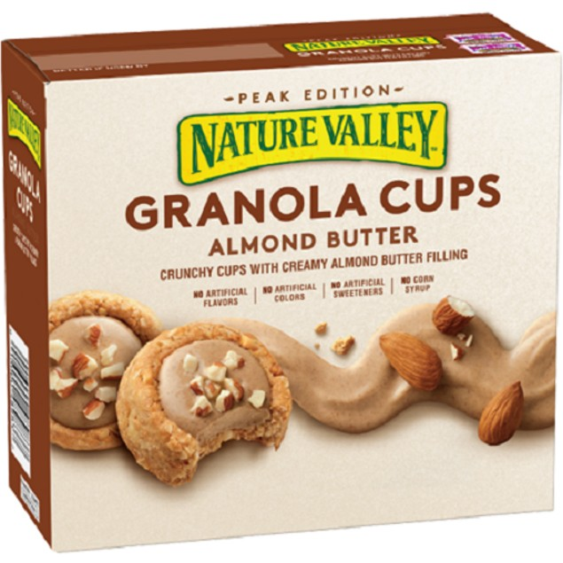 Nature Valley Granola Cups Almond Butter