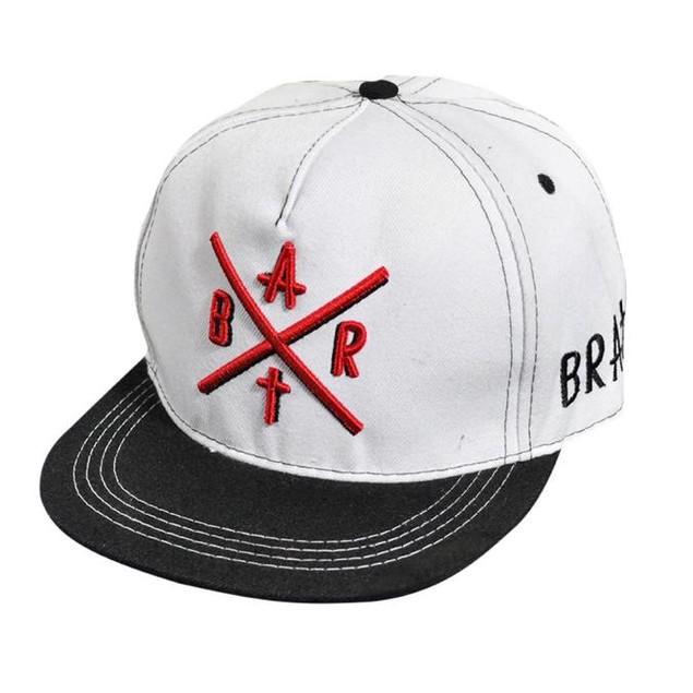 Fashion Embroidery Snapback Boy Hiphop Hat Adjustable Baseball Cap