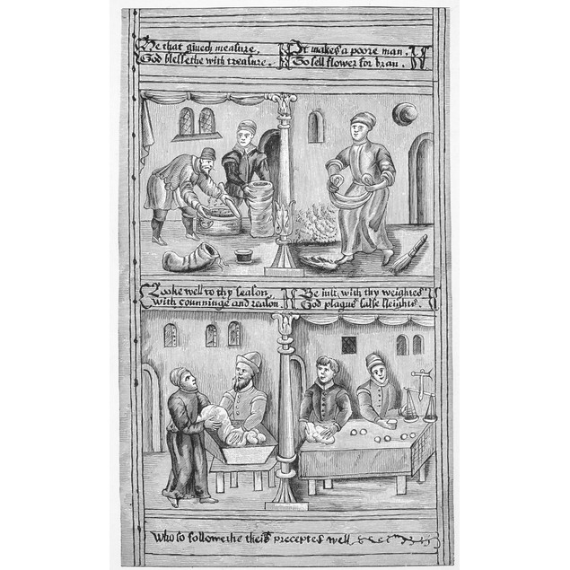 Guilds: Bakers. /Ninstructions To The Baker'S Guild Of York, England. From