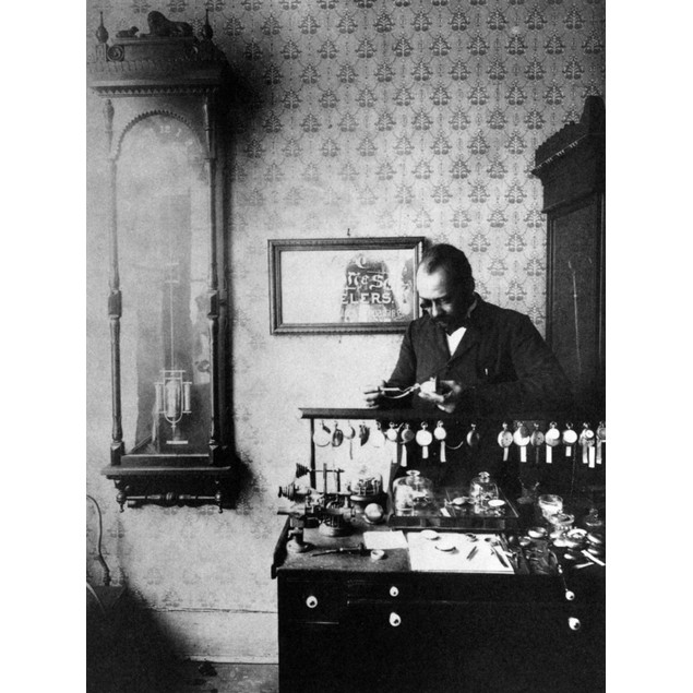Jeweler, 19Th Century. /Na Late 19Th Century Photograph Of 'Mr. Dodson', An