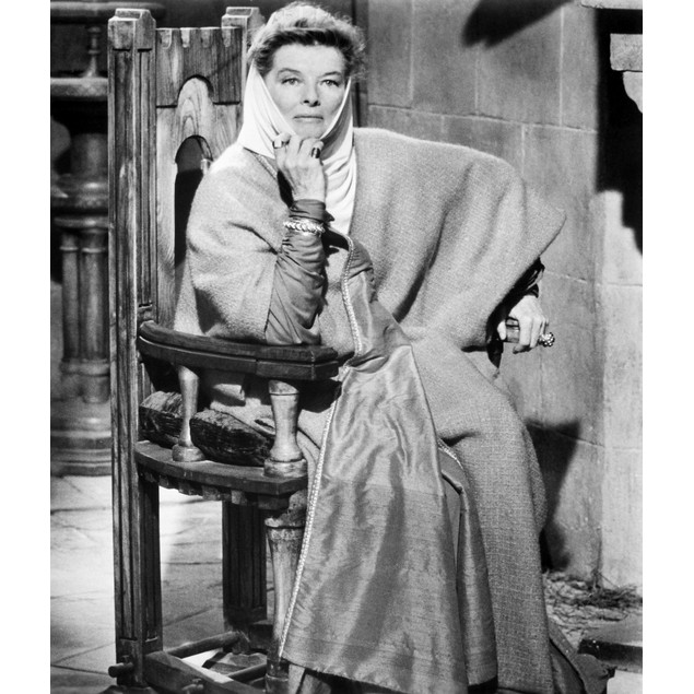 Katharine Hepburn /N(1907-2003). American Actress. As Eleanor Of Aquitaine