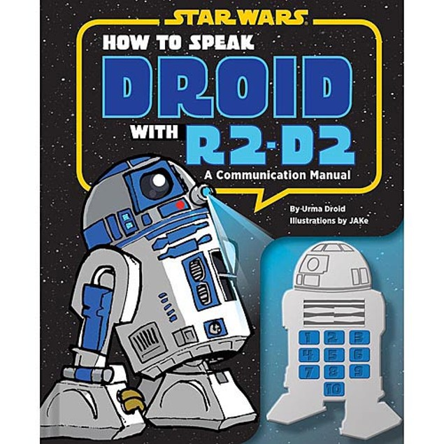 How to Speak Droid with R2-D2 Book, Star Wars by Chronicle Books