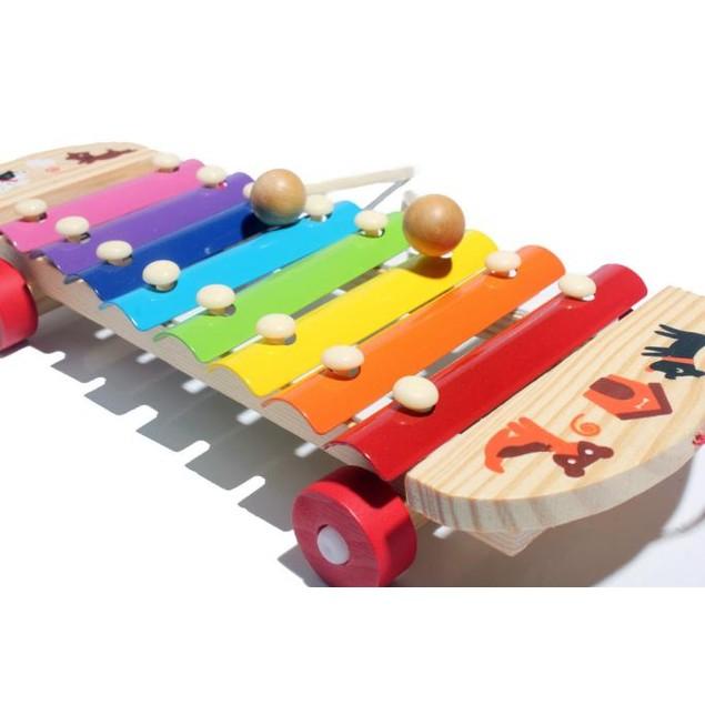 Musical Toys Xylophone Wisdom Development Wooden Instrument