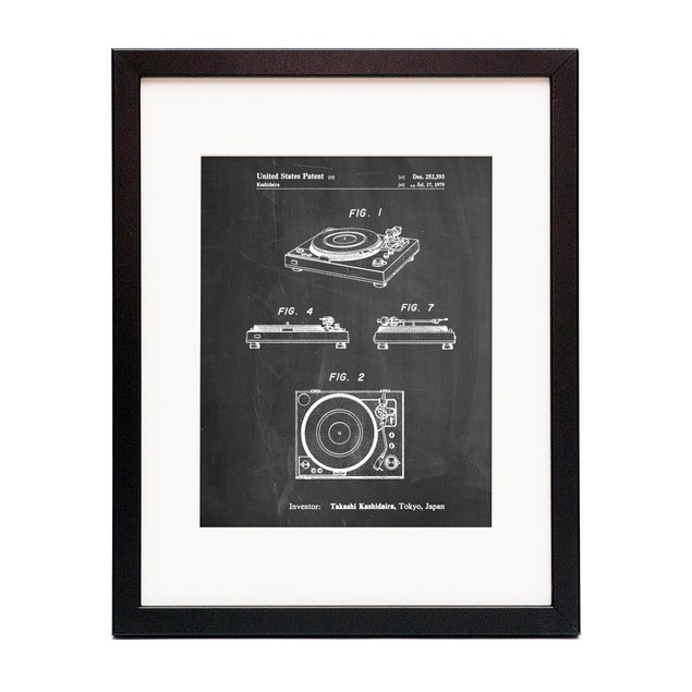 Turntable 1979 Patent Poster