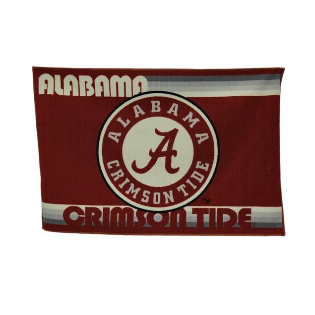 University Of Alabama Crimson Tide 39 By 59 Inch Area Rugs