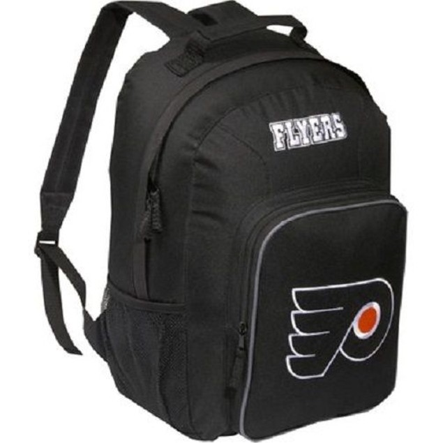 """Philadelphia Flyers NHL Concept One """"Southpaw"""" Black Backpack"""