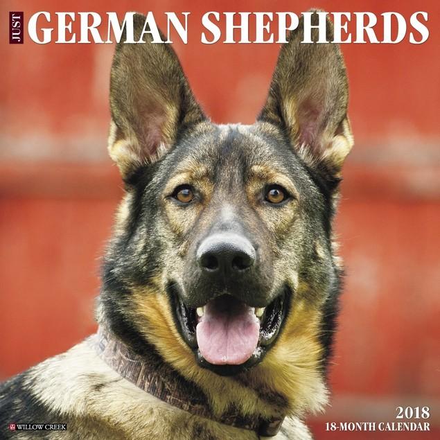 Just German Shepherds Wall Calendar, German Shepherd by Calendars