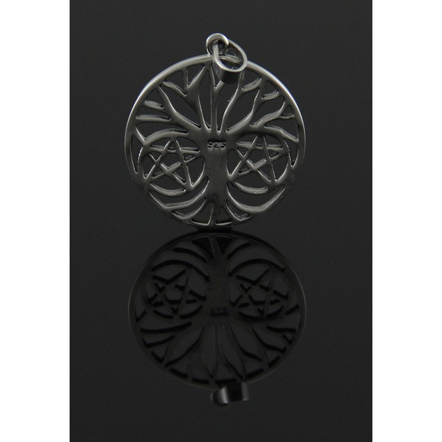 Sterling Silver Pentalpha Tree Of Life Pendant For Individual Pendants