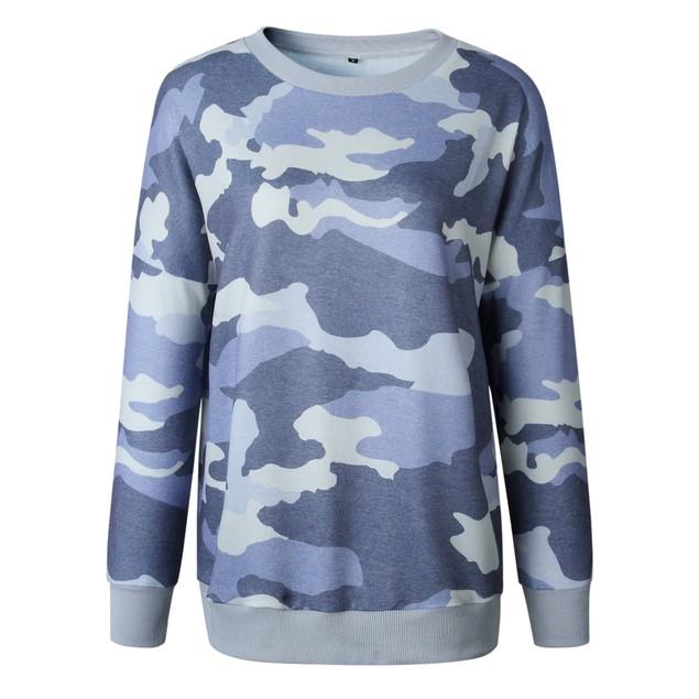 Pastel Camo Sweater
