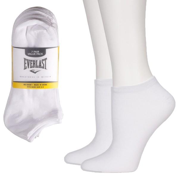 14-Pairs Everlast Mens No Show Socks