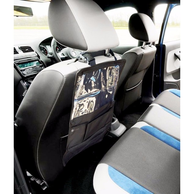 Zone Tech Car Organizer Back Seat iPad Holder
