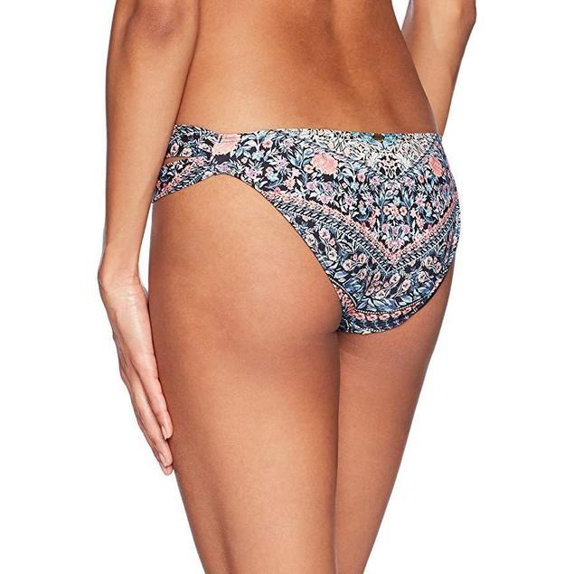 O'Neill Women's Porter Tab Side Bikini Bottom Swimsuit, Multi, M