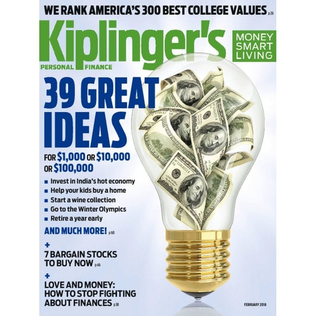 Kiplinger's Personal Finance Magazine Subscription