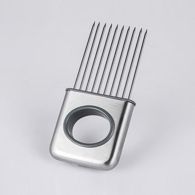 Stainless Steel Vegetable Holder Gasget