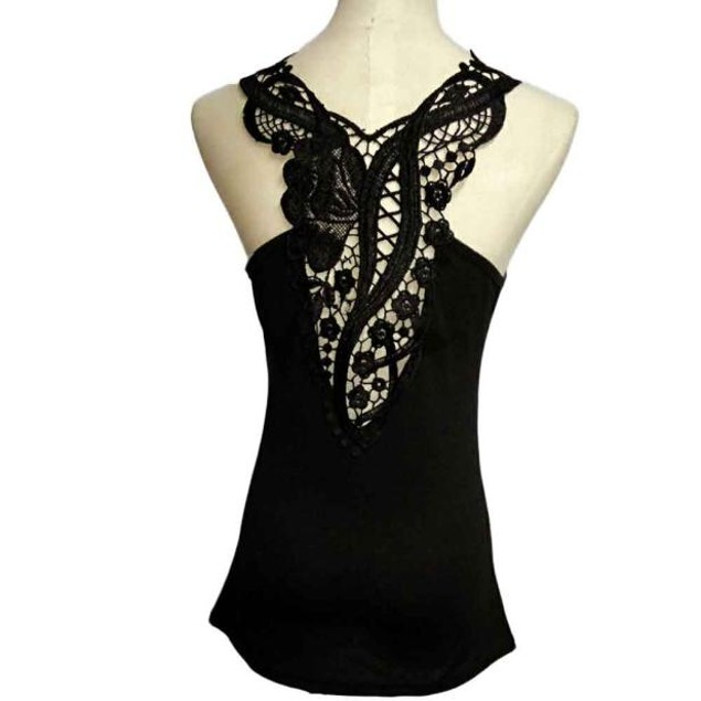 Women Lace Halter Top Fashion Sleeveless Camisole