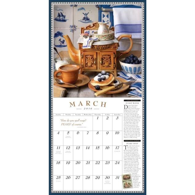 Teapot Wall Calendar, Coffee & Tea by Calendars