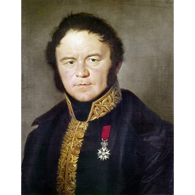 Stendhal (1783-1842)./Npseudonym Of The French Writer, Marie Henri Beyle. S