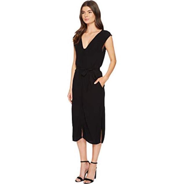 Tavik Women's Leeman Midi Dress Black  SZ Small