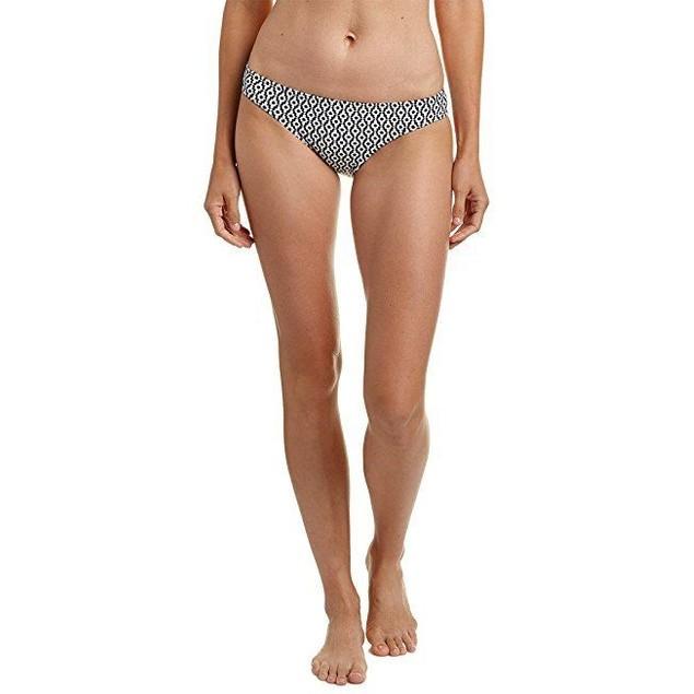 Splendid Women's Astoria Retro Bikini Bottom Black Pants Sz: L