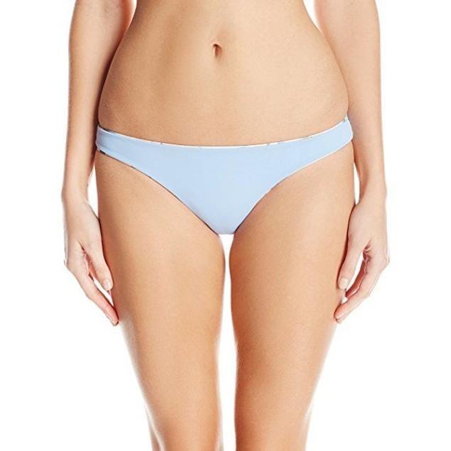 Mara Hoffman Women's Aloe Reversible Low Rise Bikini Bottom SIZE LARGE