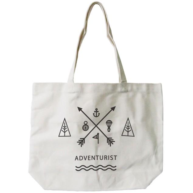 Unique Adventurist Canvas Tote Bag