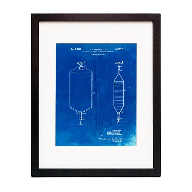 I.V. Bag Patent Poster