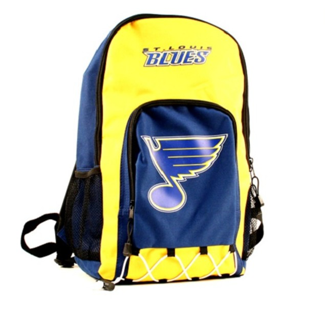 "St. Louis Blues NHL ""Echo Bungee"" Backpack"