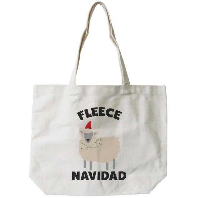 Feliz Navidad Canvas Bag