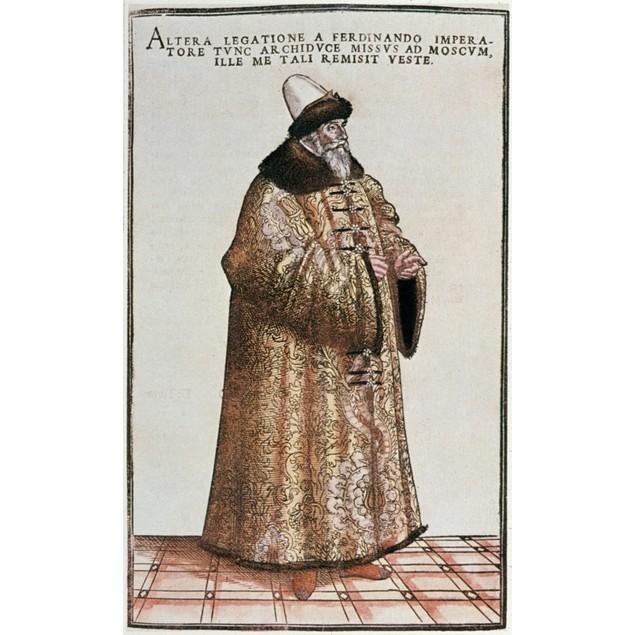 Sigismund Von Herberstein /N(1479-1533). Austrian Diplomat, Writer, And His