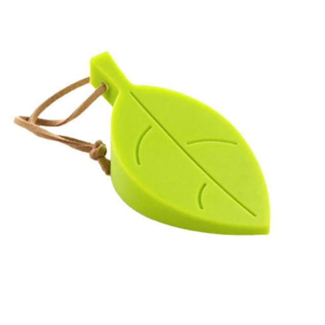 Cute Leaf Style door stopper Silicon Doorstop Safety For Baby