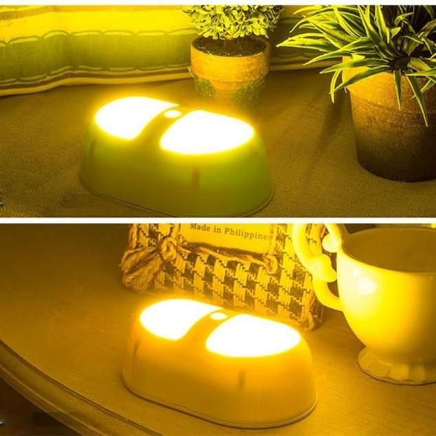 LED Yellow Light Sensor Night Light Lighting Control
