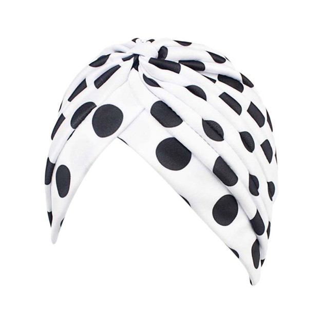 Women Printing Cancer Chemo Hat Beanie Scarf Turban Head Wrap Cap A