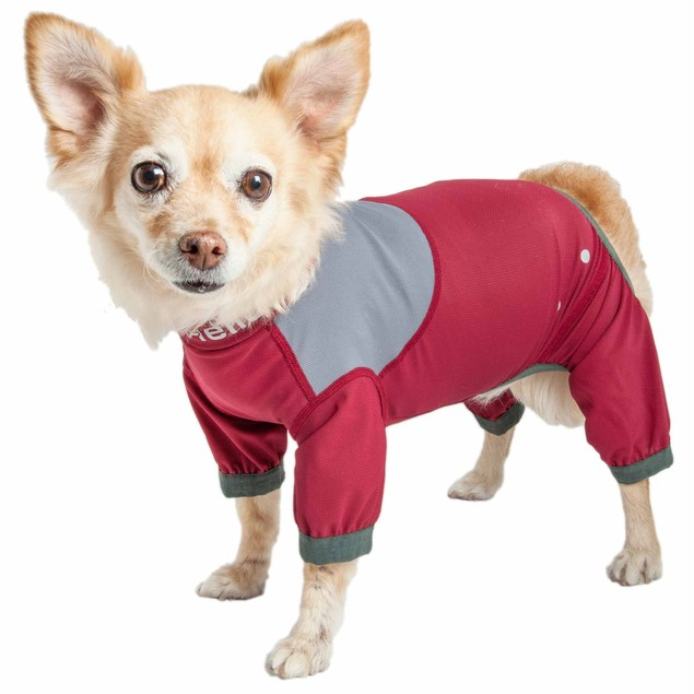 Dog Helios 'Tail Runner' Lightweight Full Body Performance Dog Track Suit