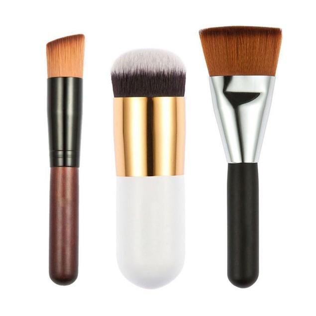 7Pcs Makeup Cosmetic Brushes Eyeshadow Lip Brush Tool
