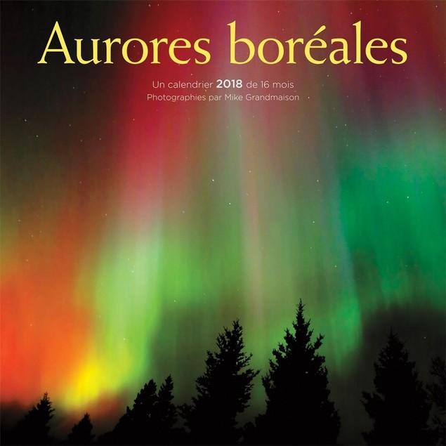 Aurores boréales Wall Calendar (French), Nature by Calendars
