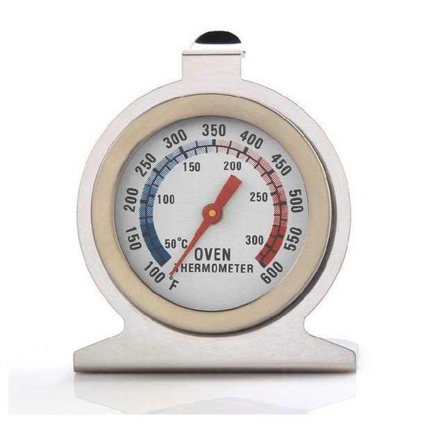 Home Food Meat Dial Stainless Steel Oven Thermometer Temperature Gauge