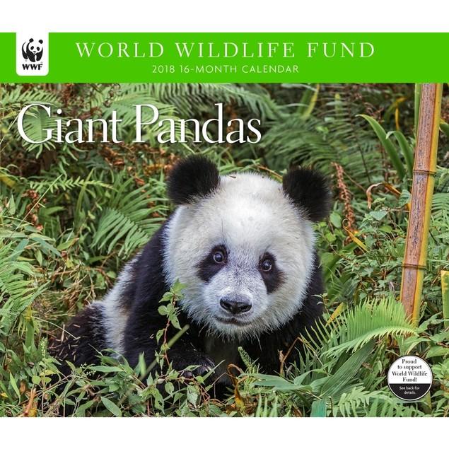 Giant Pandas WWF Wall Calendar